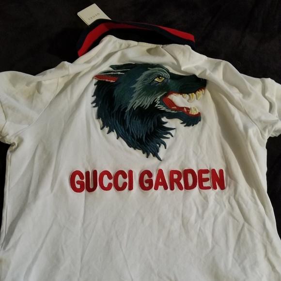 9f9cd888b3d Gucci Garden Polo